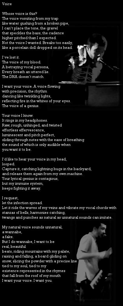 Voice poem