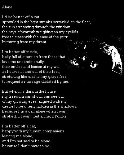Alone poem