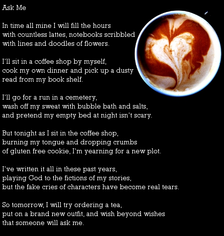 Ask Me poem