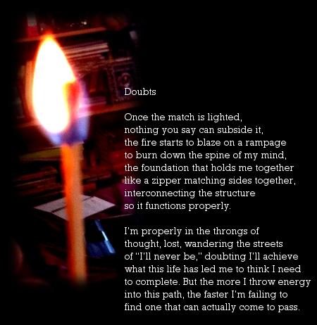 Doubts poem