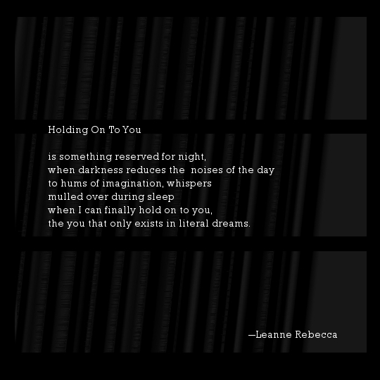 Holding On To You