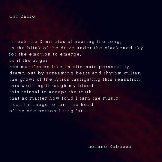 Car Radio She S In Prison