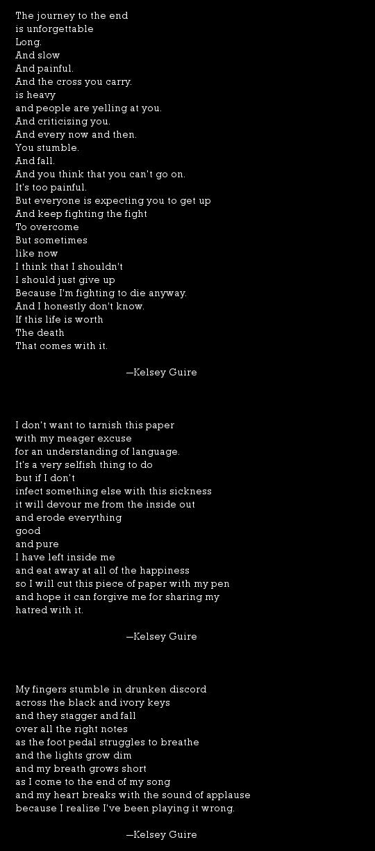 Kelsey Guire Poetry